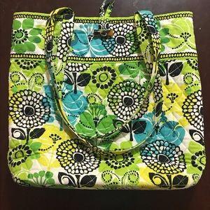 Vera Bradley Lime's Up Tote Bag